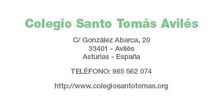 Colegio Santo Tomás: Datos de contacto